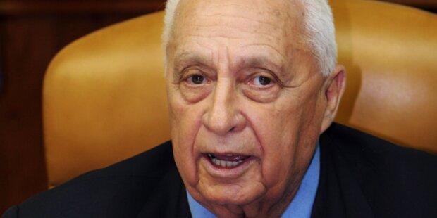 Jetzt Hirnaktivität bei Israels Ex-Premier Sharon