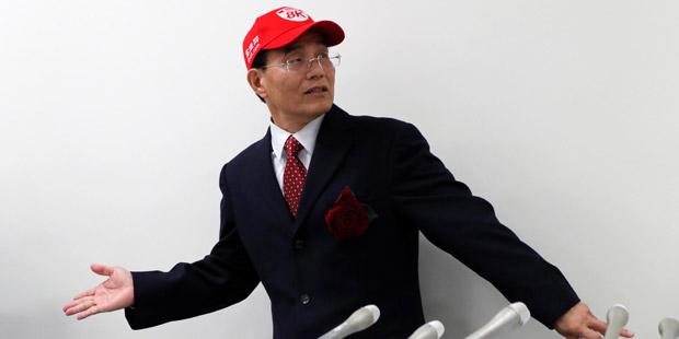 Sharp Präsident Tai Jen Wu