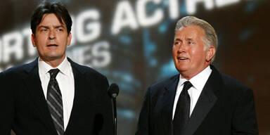 Charlie und Martin Sheen