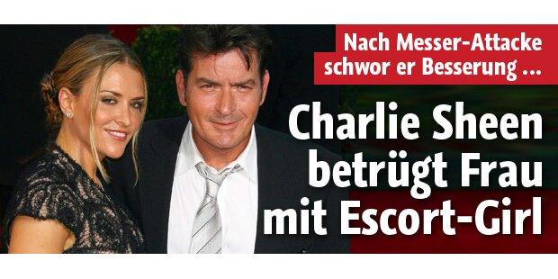 Charlie Sheen: Affäre mit Dessous-Model