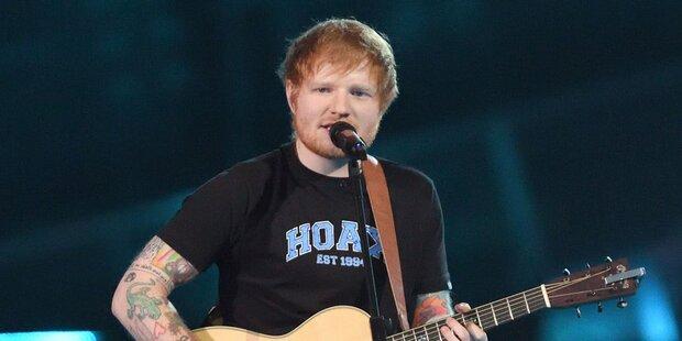Sheeran mit Wien-Gig auf Rekord-Jagd