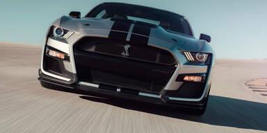 Mustang Shelby GT500 ist stärkster Ford aller Zeiten