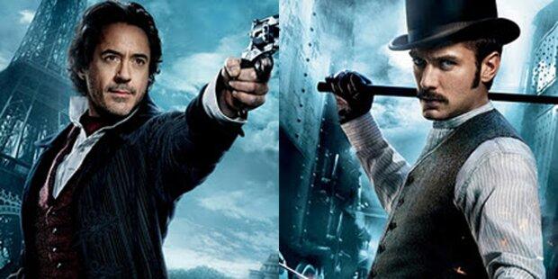 Sherlock Holmes stürmt US Kino-Charts