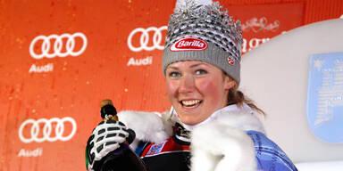 """3. Streich von """"Wunderkind"""" Shiffrin im Flachau-Slalom"""