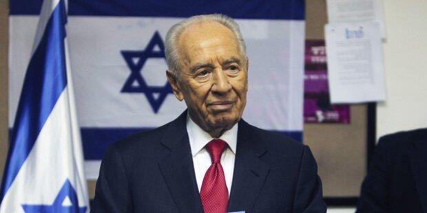 Peres setzt Beratungen über Regierungsbildung fort