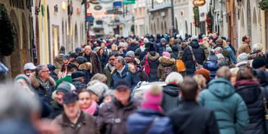 Shoppen Weihnachten Salzburg