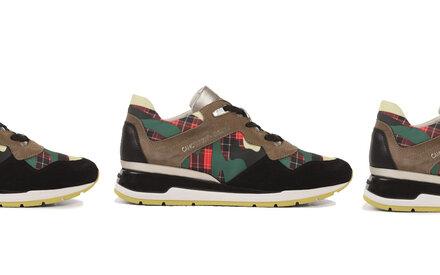 Camotartan-Sneaker von Geox