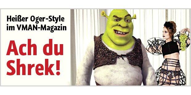 Oh Shrek! Fashion-Strecke im Oger-Style