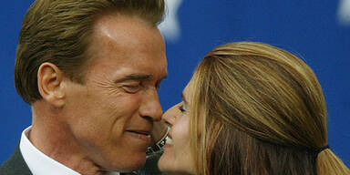 Shriver bei Arnie ausgezogen