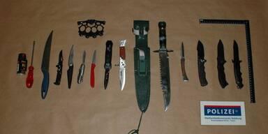 Messer Tschetschenen Afghanen