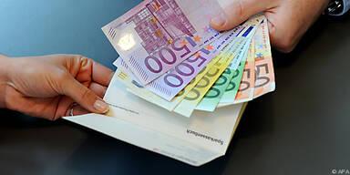Sicherheitsdenken geht beim Geld vor