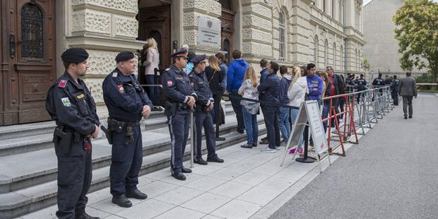 Sicherheitsvorkehrungen Graz