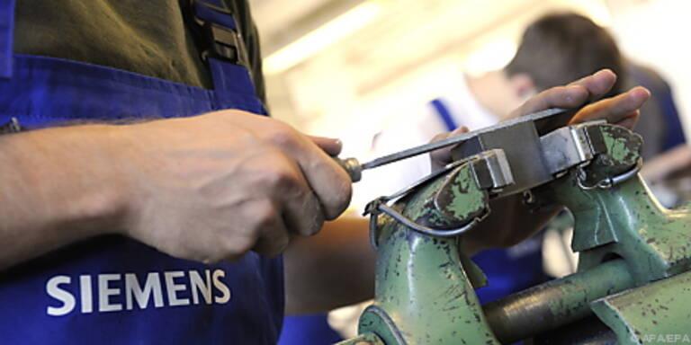 Siemens will Betriebsgewinn des Vorjahres steigern