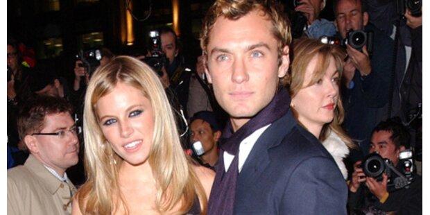 Jude Law und Sienna wieder ein Paar?