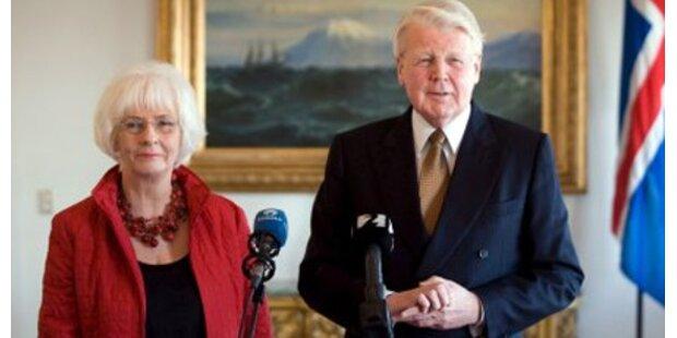 Island plant bald EU-Beitrittsansuchen