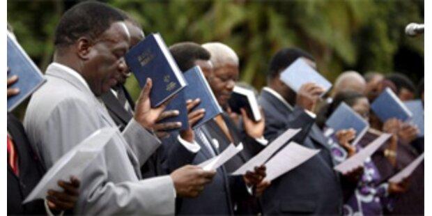 Simbabwe: Ein Drittel der Wähler längst tot