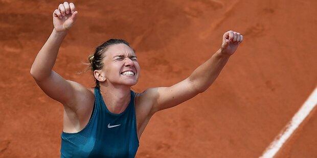 Simona Halep holte ersten Major-Titel