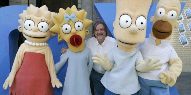 Simpsons Erfinder bekommt Stern
