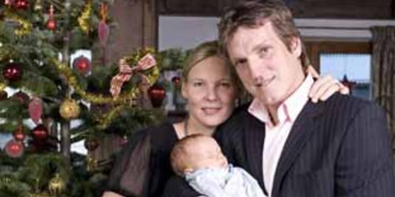 Andi Herzog mit seiner Familie