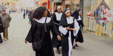 Nonnen mitten in Wien bestohlen