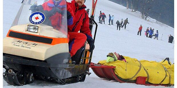 Mehr und schwerere Skiunfälle