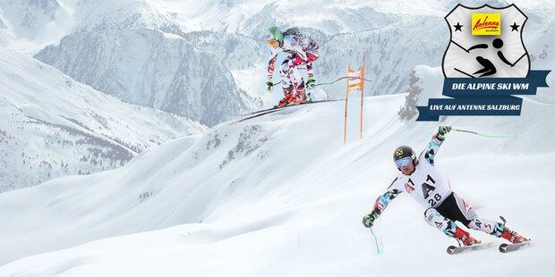 Die alpine Ski - WM in St. Moritz