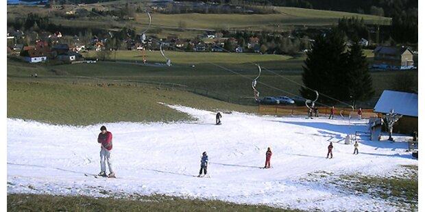 Kritik an Wintersport auf Kunstschnee