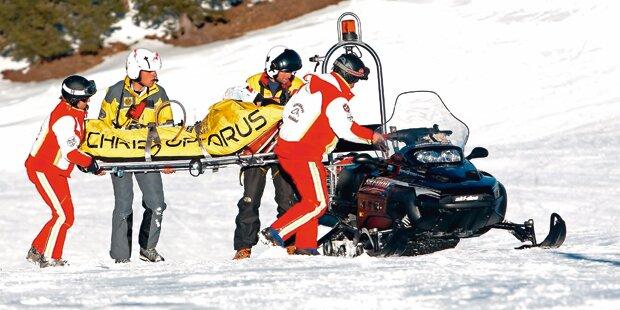 Ski-Rambos lassen Verletzte im Stich