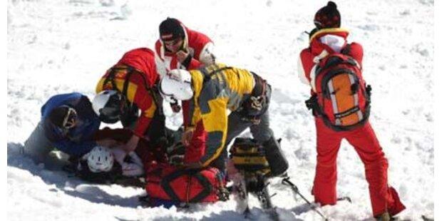Zusammenprall zweier Skifahrer in OÖ