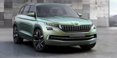 Skoda greift mit neuem Edel-SUV an