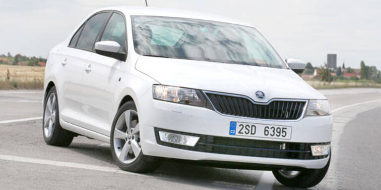 Skoda Rapid startet ab 14.890 Euro