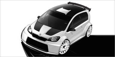 GTI-Treffen 2012:  Skoda zeigt Rallye-Citigo