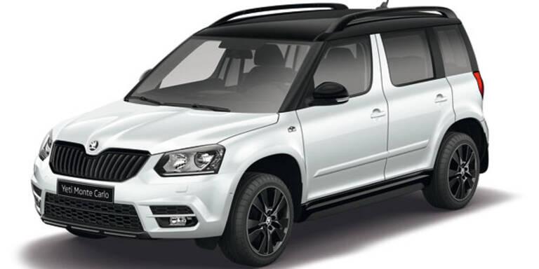 """Škoda Yeti und Citigo als """"Monte Carlo"""""""