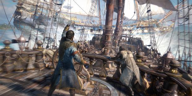 Nächstes Piratenspiel bereit zum Entern