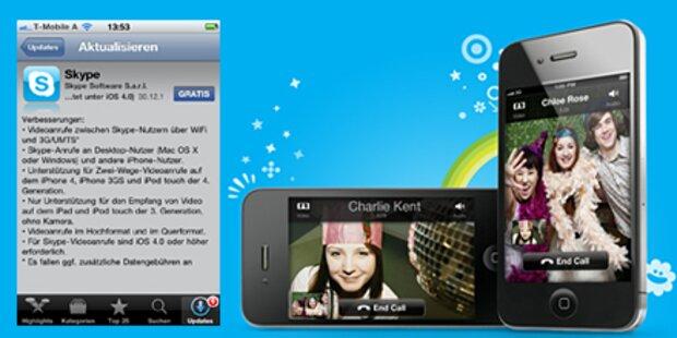 Videotelefonie 3.0 von Skype