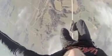 Wahnsinn: Seiltanzen in 500 Metern Höhe