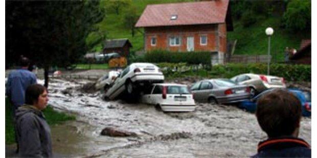 Sechs Tote nach Unwettern in Slowenien