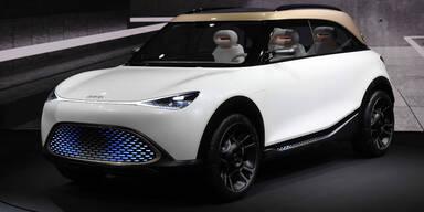 Neuer Smart wird ein kompaktes E-SUV