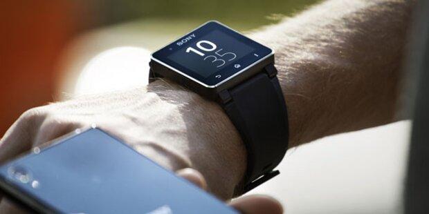 Sonys SmartWatch 2 startet in Österreich