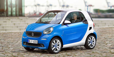 Smart-Offensive: Neuer fortwo, forfour & SUV