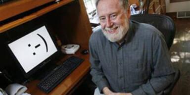 Professor Scott E. Fahlman von der Carnegie Mellon Universität - Erfinder des digitalen Smileys.