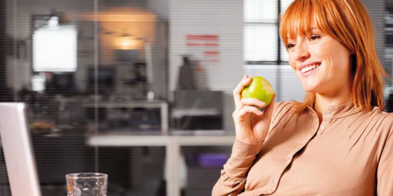 Snacks unter 100 Kalorien Büro Zwischenmahlzeit