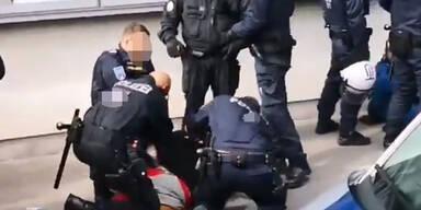 Polizei Prügel-Video