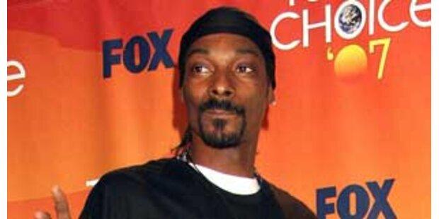 Rapper Snoop Dogg gesteht illegalen Waffenbesitz