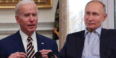 So lief das erste Gespräch zwischen Putin und Biden