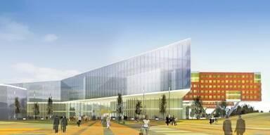 So das Krankenhaus aussehen