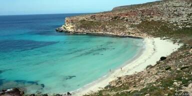 So schön ist die italienische Flüchtlingsinsel
