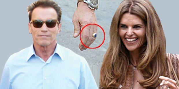Arnie & Maria sind wieder vereint