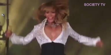 Beyonce: B(l)usen-Panne während Konzert!