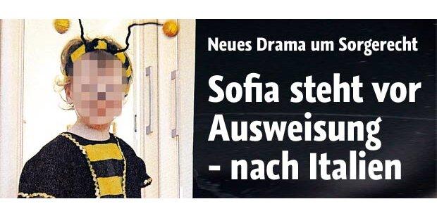 Auch Sofia (3) steht vor Ausweisung